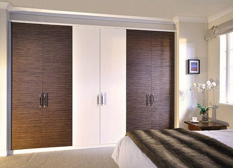 Двери распашные для шкафа встроенного поменять