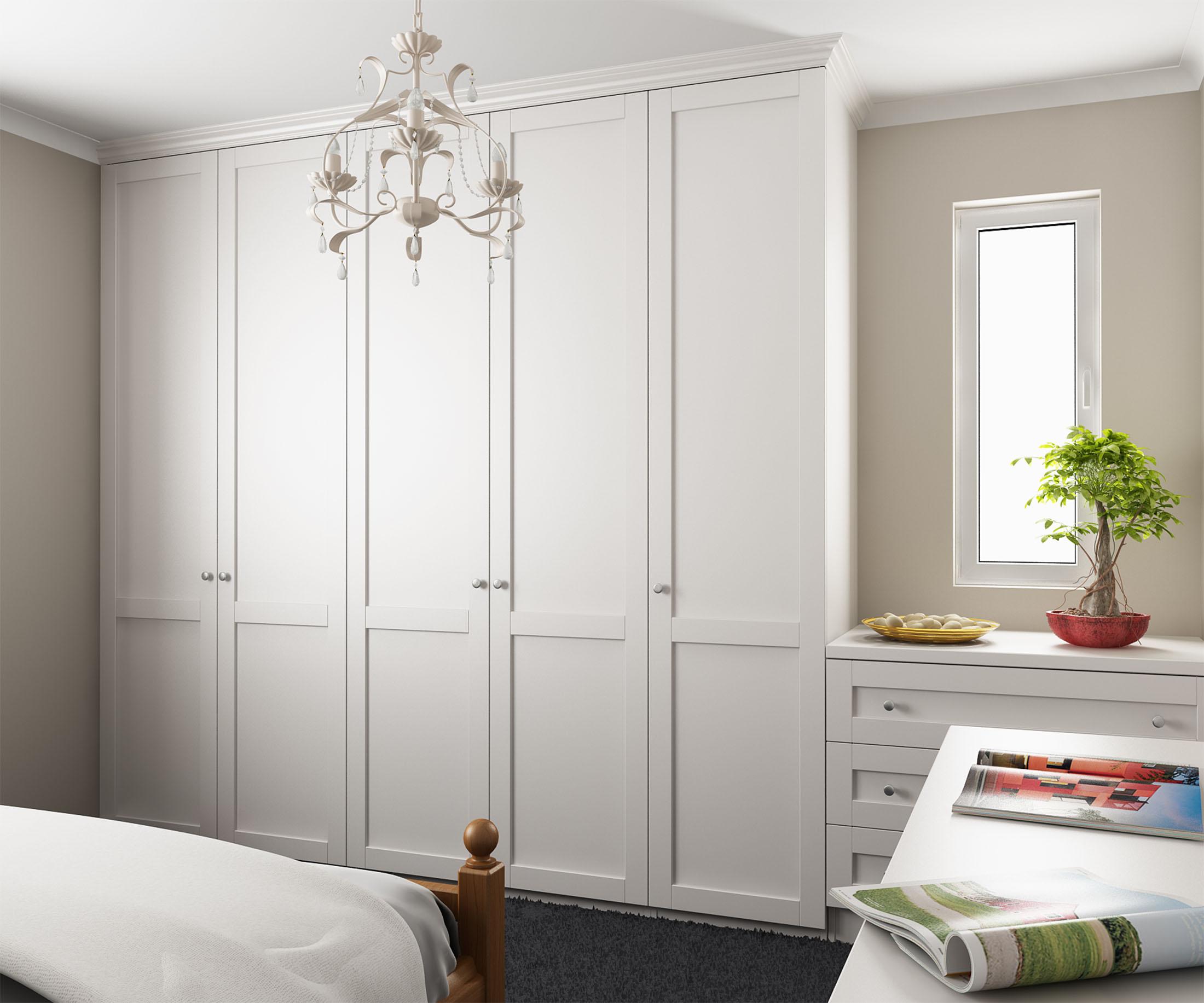 Ваш шкаф - встраиваемый распашной шкаф и его роль в интерьер.